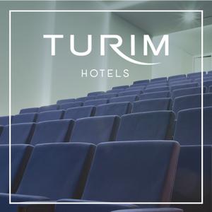 Auditório com Logo Turim